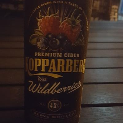 picture of Kopparberg Brewery Wildberries Cider submitted by Mekkern