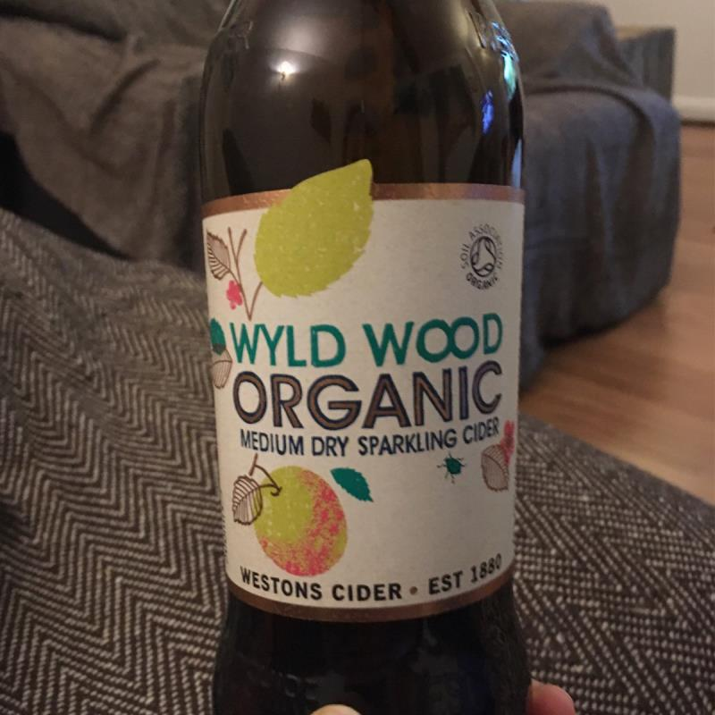 picture of Westons Cider Wyld Wood Organic Medium Dry Sparkling Cider submitted by Riamonckton