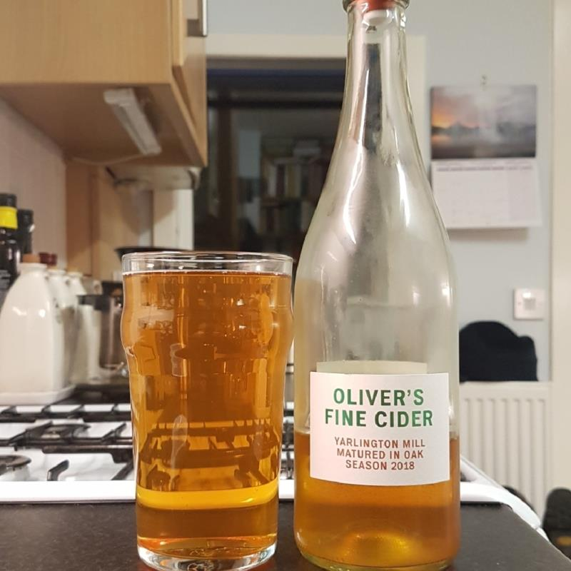 picture of Oliver's Cider and Perry Yarlington Mill Oak Matured 2018 submitted by BushWalker