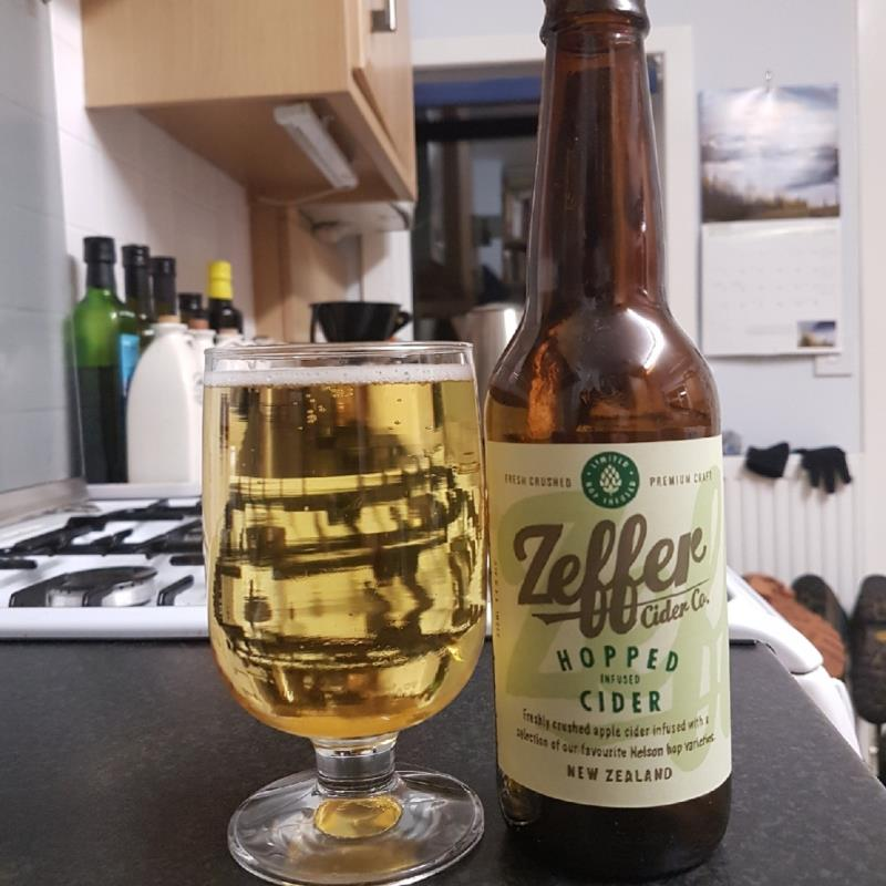 picture of Zeffer Zeffer Hopped Infused Cider submitted by BushWalker