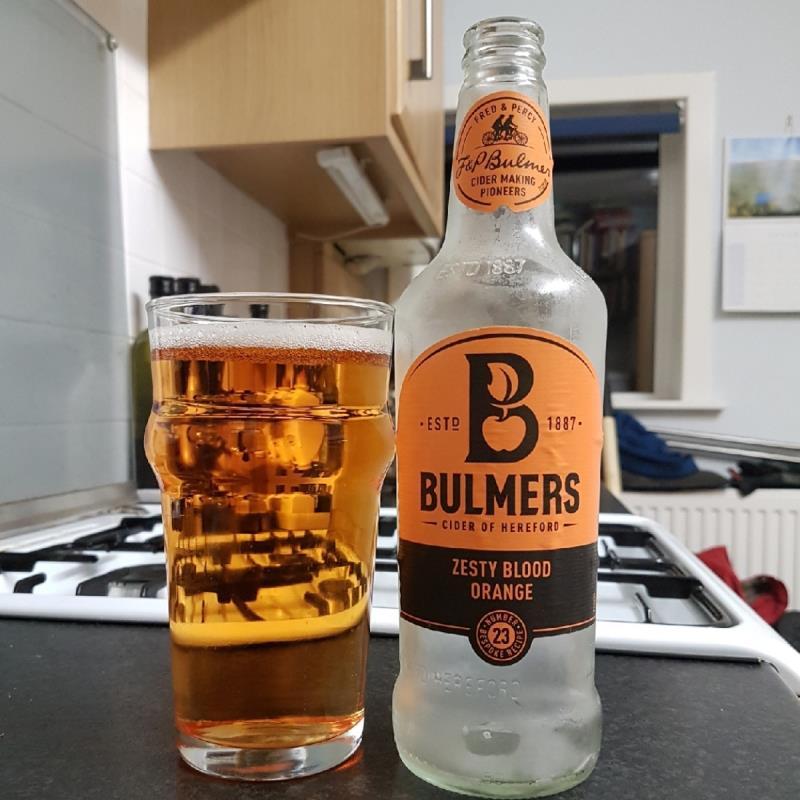 picture of Bulmer's Cider Zesty Blood Orange submitted by BushWalker
