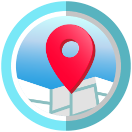 Badge earned for Explorer Level 5: Checked in 50 different places
