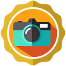 Badge earned for Shutterbug Level 4: Add photo to 50 ciders