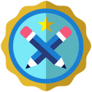 Badge earned for Wordsmith Level 3: Reviewing 100 ciders